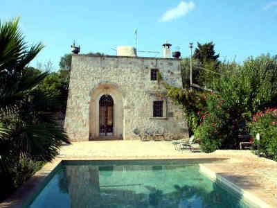 Ferienhaus mit pool in Apulien Ostuni