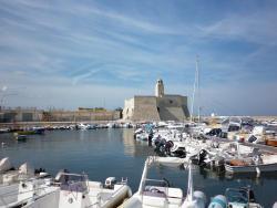 Ostuni Apulien Hafen von Ostuni