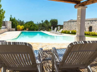 Trullo mit Pool Ostuni