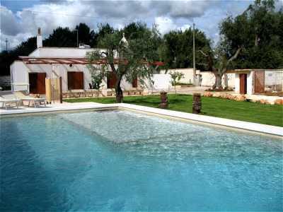 Apulien Ferienhaus Villa Spadalunga