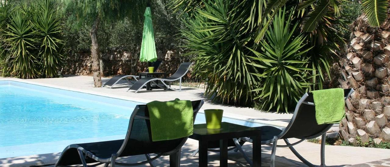Ferienhaus mit Pool Apulien