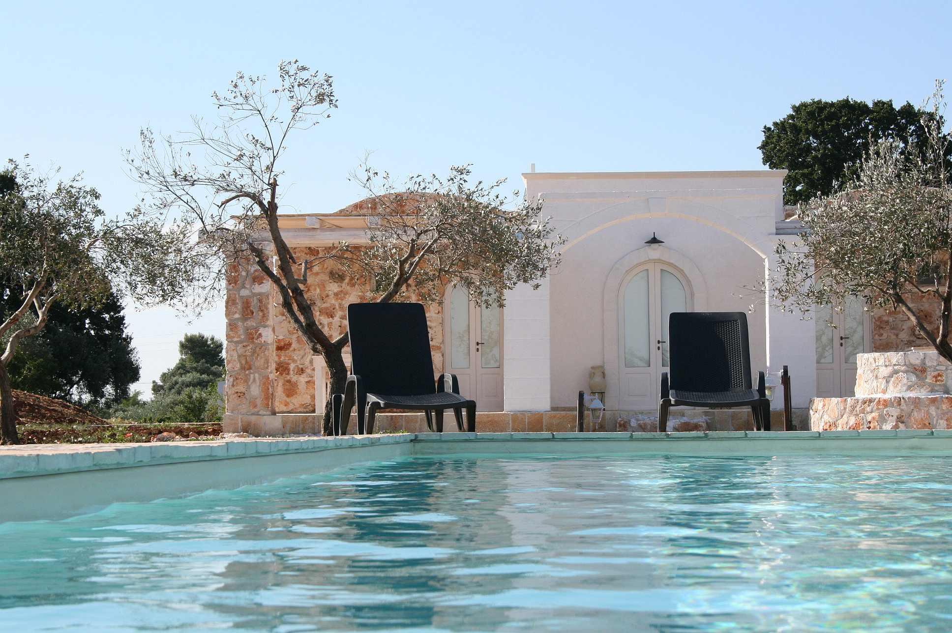 Ferienwohnungen mit pool in Apulien