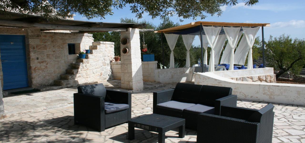Trullo Azzurro Ostuni - Apulien